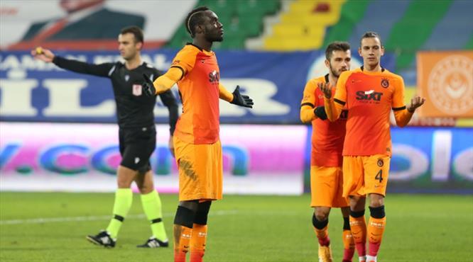 Diagne attı, Galatasaray öne geçti