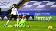 Leicester, evinde Fulham'a kaybetti
