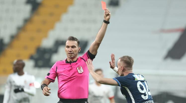 Kırmızı kart: Hadergjonaj - BJK Haber