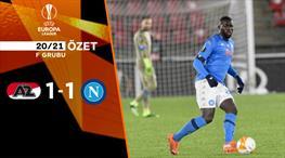 ÖZET | AZ Alkmaar 1-1 Napoli