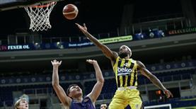 Fenerbahçe Beko ligde 10. galibiyetine ulaştı