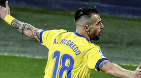 Negredo, Barcelona'yı eli boş gönderdi