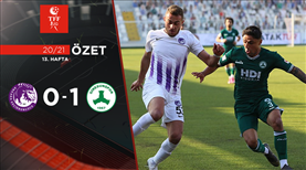 ÖZET | Ankara Keçiörengücü 0-1 Giresunspor
