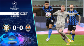 ÖZET | Inter 0-0 Shakhtar Donetsk