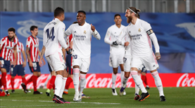 Derbinin galibi Real Madrid oldu