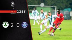 ÖZET | Giresunspor 2-0 Adana Demirspor