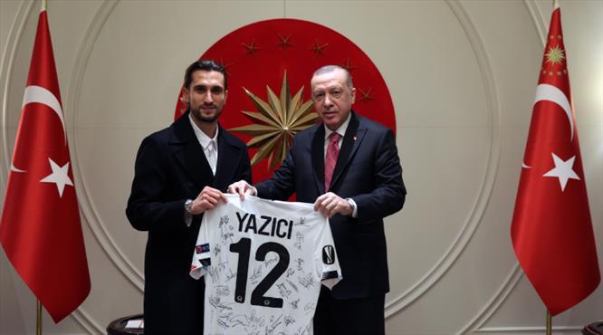 Yusuf Yazıcı'dan Cumhurbaşkanı Erdoğan'a ziyaret