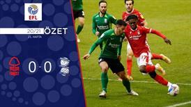 ÖZET | Nottingham Forest 0-0 Birmingham