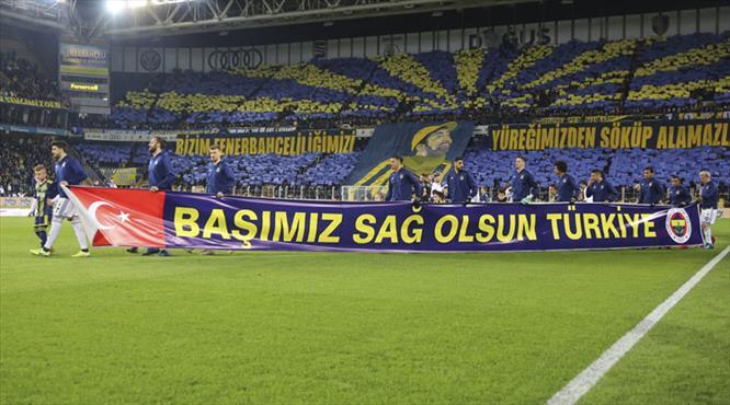 Fenerbahçe taraftarı Sefa Kalya'yı unutmadı