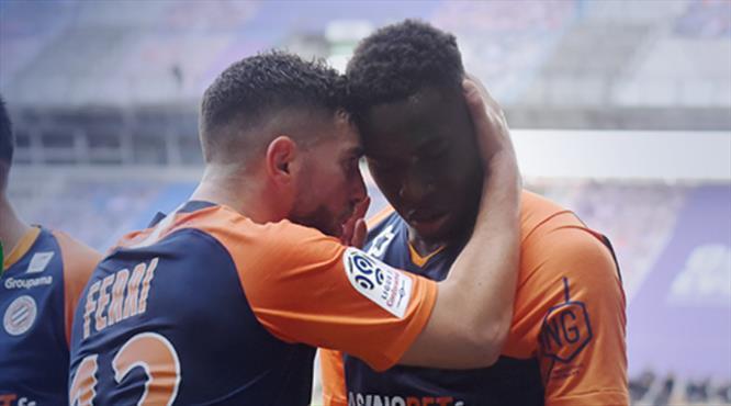 10 kişi Montpellier tek golle işi bitirdi (ÖZET)
