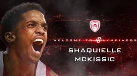 Shaquielle McKissic Olympiakos'ta