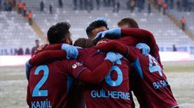 Trabzonspor yarı finalde! Rakip Fenerbahçe