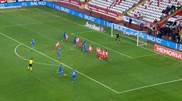 Aytaç'ın serbest vuruşu, haftanın golüne aday