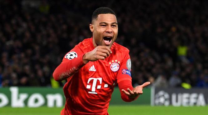 Londra'dan bir kez daha Gnabry ve Bayern Münih geçti (ÖZET)
