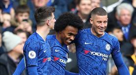 Chelsea farklı kazandı: 4-0