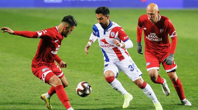 Altınordu-EH Balıkesirspor: 1-1 (ÖZET)