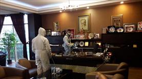 Sivasspor'un tesisleri dezenfekte edildi