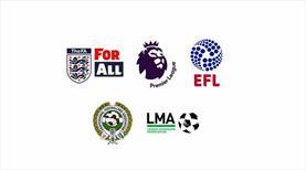 İngiliz futbolu askıya alındı