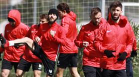 Antalyasporlu futbolcular evlerinde çalışacak