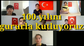 İstanbulspor'un U11 takımından 23 Nisan mesajı