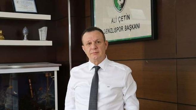 Ali Çetin'den mali durum açıklaması