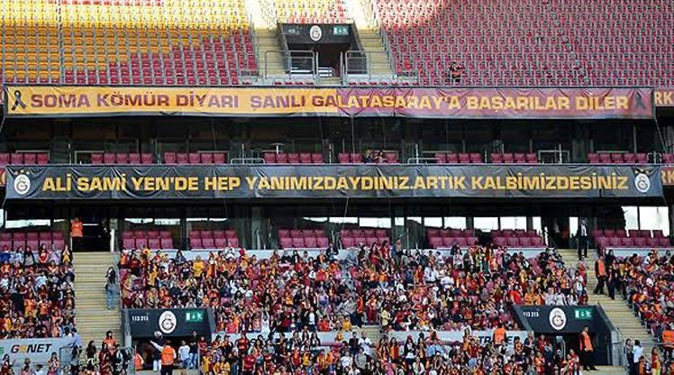 Galatasaray'dan Soma mesajı