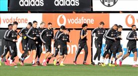 Beşiktaş'ta çalışmalar sürüyor