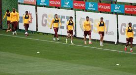Galatasaray'dan çift idman