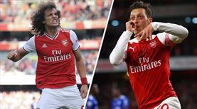 Arteta'dan Mesut Özil ve David Luiz sözleri