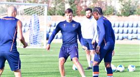 Başakşehir'de Galatasaray hazırlıkları