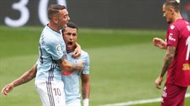 Celta Vigo'dan gol şov