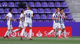 Enes attı, Valladolid puanı kaptı