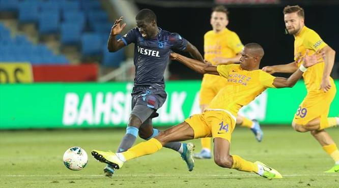 Trabzonspor - MKE Ankaragücü: 1-1 (ÖZET)