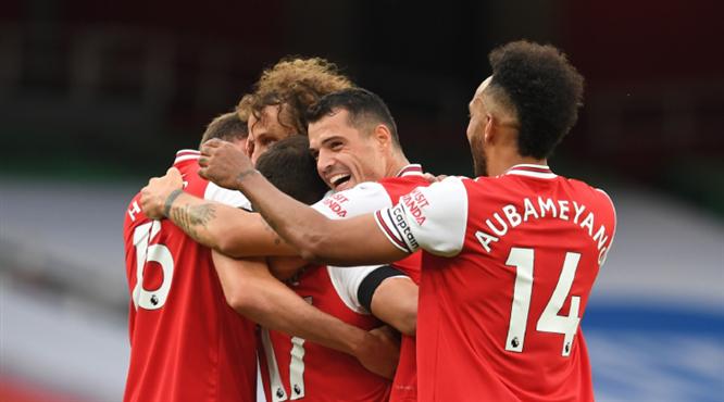 Arsenal, Norwich'i dörtledi