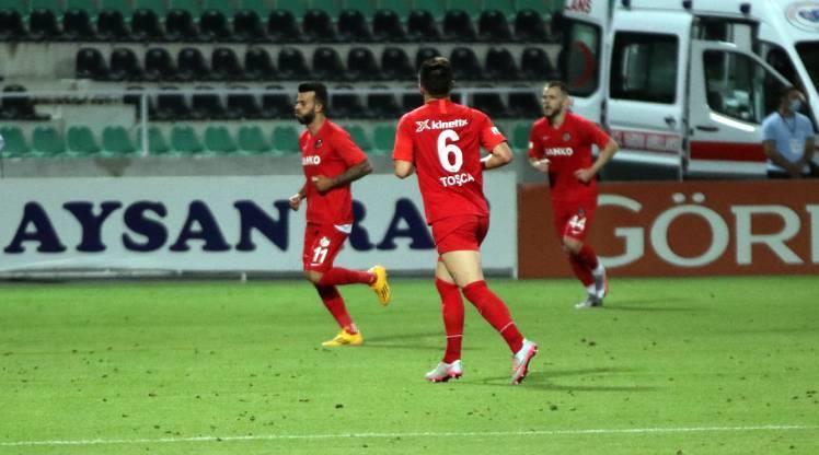 Gaziantep FK bu alanda tek