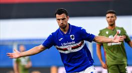Sampdoria 3 puanı 3 golle aldı (ÖZET)