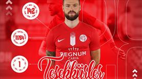 Antalyaspor'dan veda mesajı