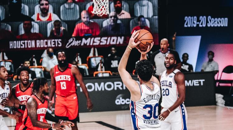 76ers'tan Rockets'a 38 sayı fark