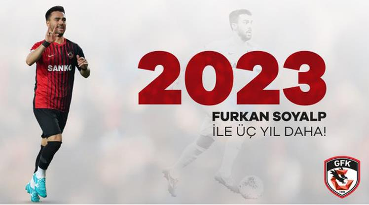 Furkan Soyalp 3 yıl daha Gaziantep FK'da