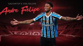 Gaziantep FK'ya Brezilyalı golcü