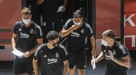 Beşiktaş kafilesi Selanik'te