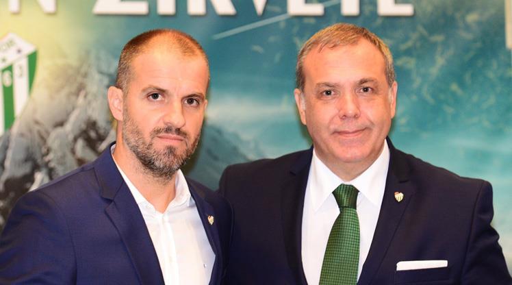Bursaspor'da Mustafa Er dönemi
