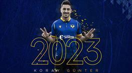 Hellas Verona Koray Günter'i açıkladı