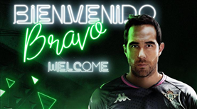 Real Betis, Claudio Bravo'yu açıkladı