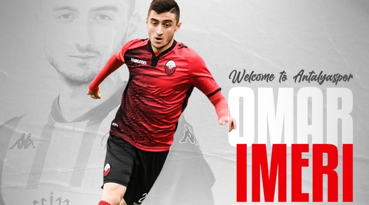 Antalyaspor, Imeri'yi açıkladı