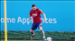 Messi, Barcelona antrenmanında