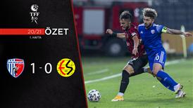 ÖZET | Ankaraspor 1-0 Eskişehirspor