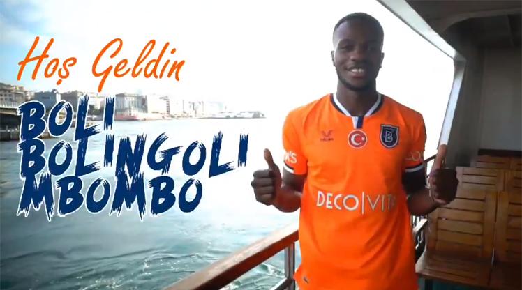 Başakşehir, Bolingoli Mbombo'yu açıkladı