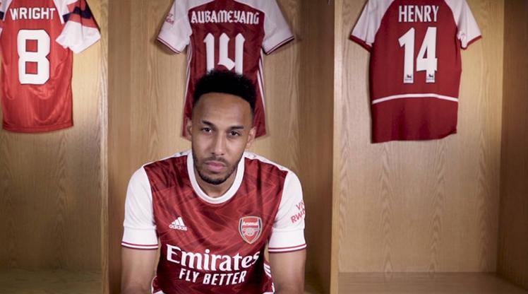 Auba, 2023'e kadar Arsenal'da