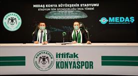 Konyaspor'un stadyum sponsoru MEDAŞ oldu